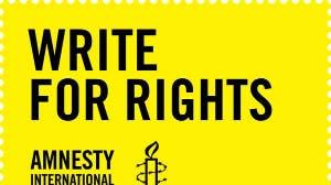 Amnesty Schrijfmarathon X KnappeKoppen
