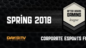 After Hours Gaming League 2018 - Corporate Esports for Charity