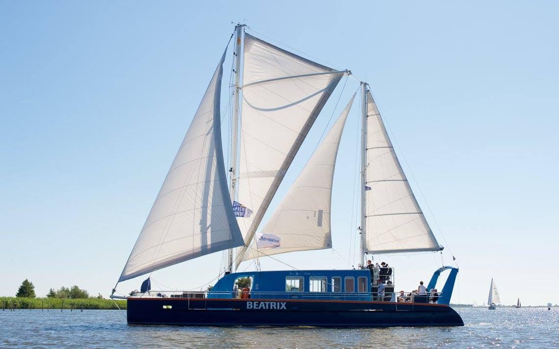 Open dag op de Beatrix en in It Sailhûs