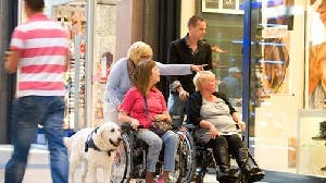 Een dagje op pad met mensen met lichamelijke beperking,
