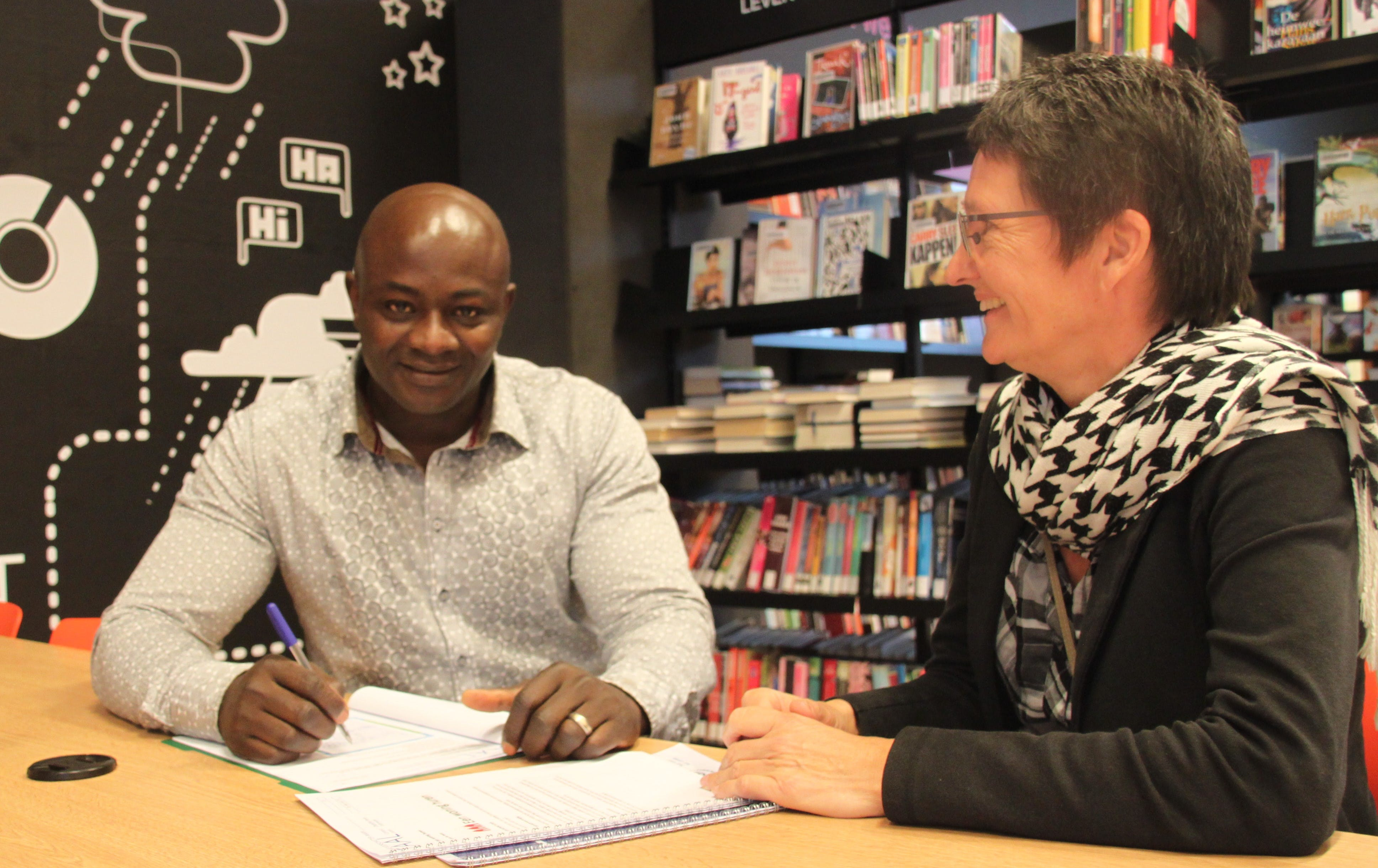 Wegwijzer taalaanbod Utrecht, bibliotheek Overvecht