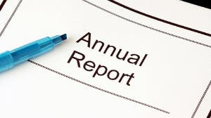 Bookkeeper to help with our annual report!