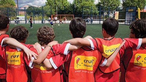 Vrijwilliger Johan Cruyff Foundation