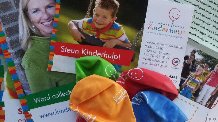 Word Collectant bij Nationaal Fonds Kinderhulp