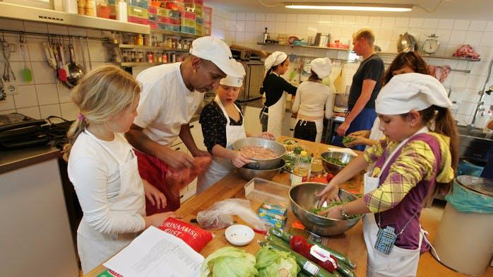 Kom koken met kids bij het Kinderkookkafe