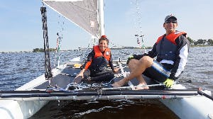 Sailing, water skiing, canoeing and volunteer? That's possible at SailWise!