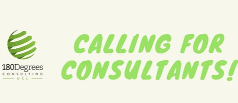 Be a consultant for our Term 2 projects!