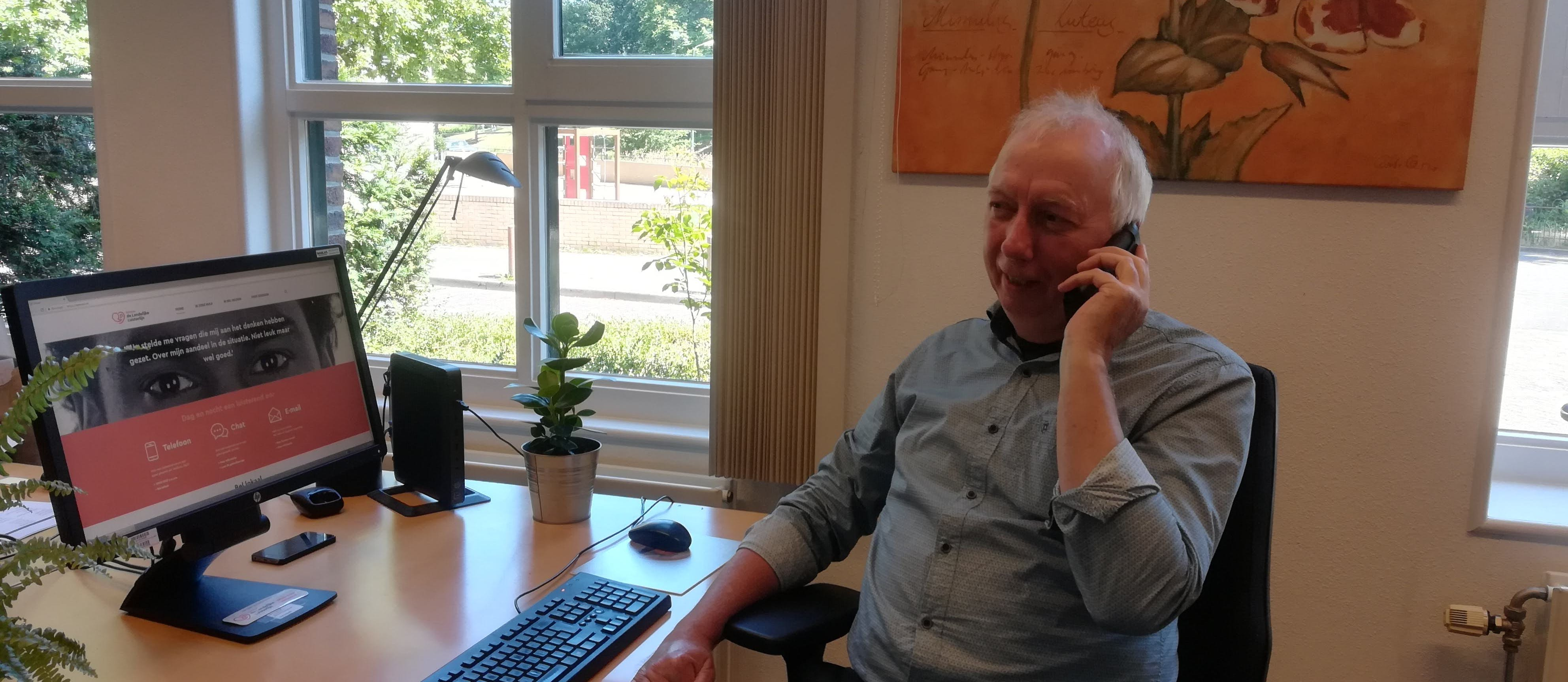 Telefoon- en chatvrijwilliger gezocht voor bieden luisterend oor