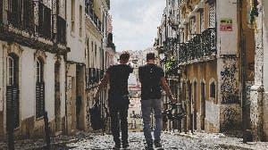 Stadswandeling met nieuwkomer