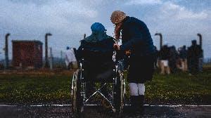 Naar buiten met de rolstoel