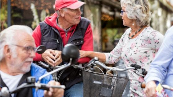 Geef je op als vrijwilliger voor Doortrappen Apeldoorn en motiveer ouderen bij het zo lang mogelijk veilig fietsen.