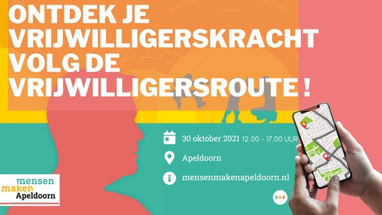 Vrijwilligersroute Apeldoorn