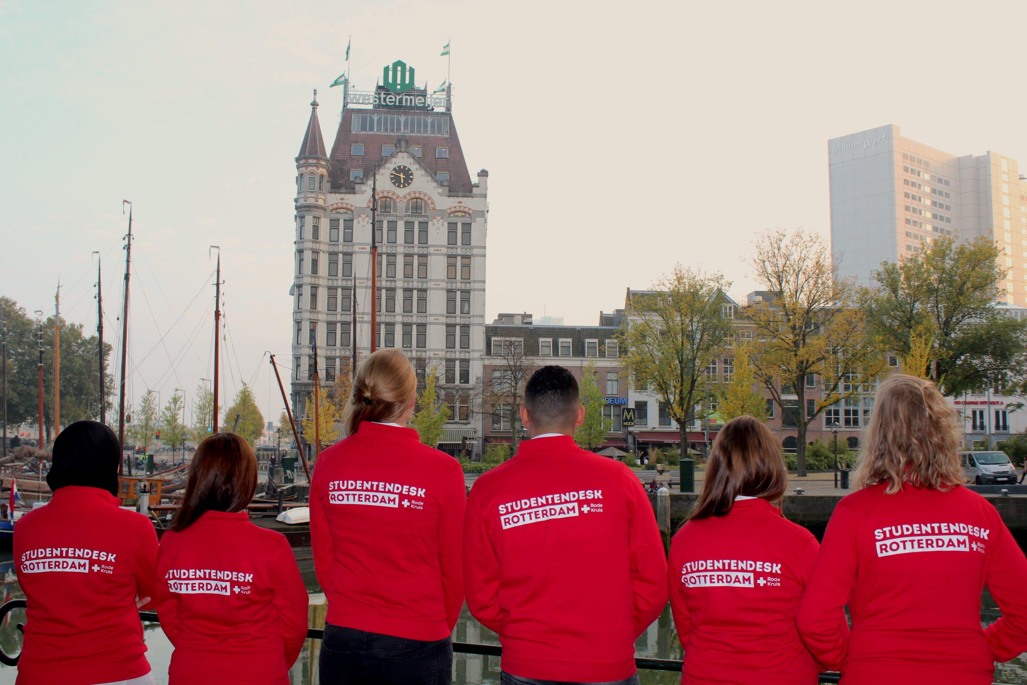 Zet je in voor Rode Kruis Studentendesk Rotterdam!