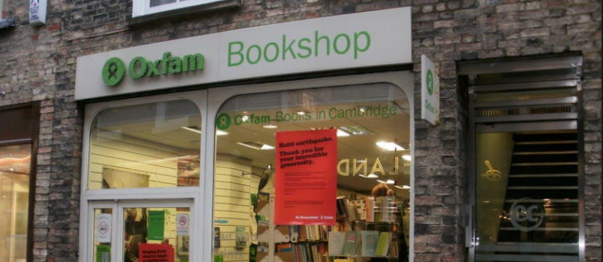 Oxfam Book Shop Cambridge