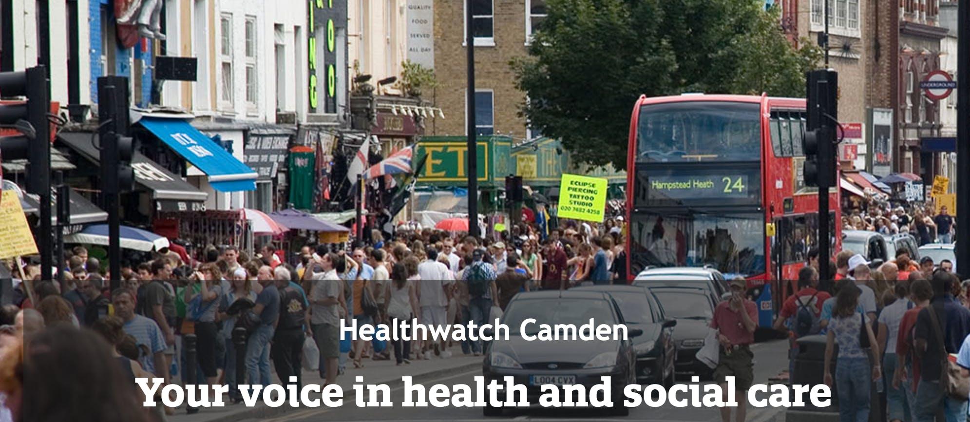 Healthwatch Camden