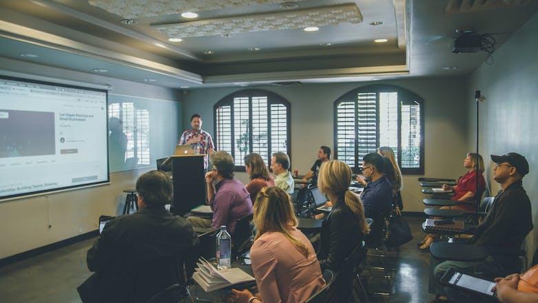 Organisaties zien een workshop