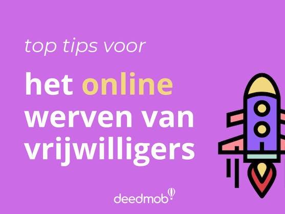 het online werven van vrijwilligers