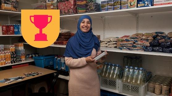 Genomineerd voor de Utrechtse Vrijwilligerstrofee: de waarderingsprijs voor vrijwilligerswerk in Utrecht.