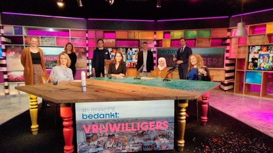 Tv special: Utrecht bedankt vrijwilligers