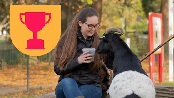 Dierenweide Vleuten is genomineerd voor de Vrijwilligerstrofee, de waarderingsprijs voor vrijwilligerswerk in Utrecht.