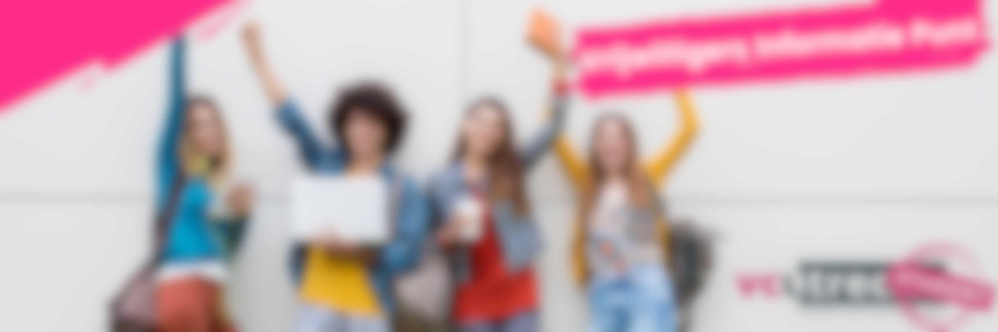 Vrijwilligers informatiepunt door studenten van de hogeschool Utrecht