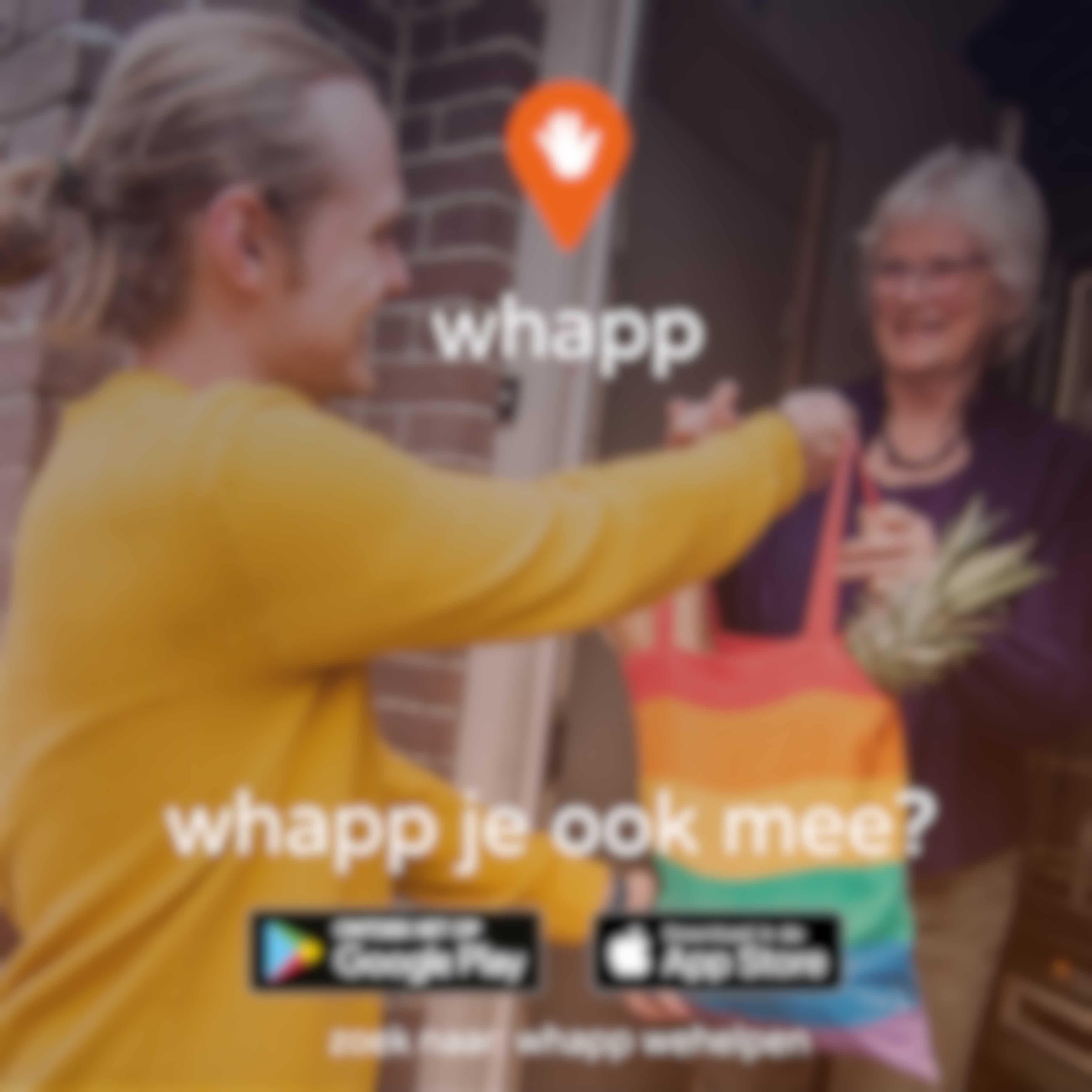 Helpen met de Whapp-app