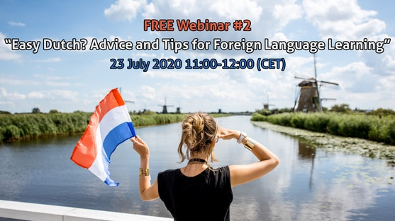 """""""Easy Dutch? Advice & Tips for Foreign Language Learning"""" with Gabriel Rodriguez, linguist and educator (and VTH volunteer!)"""