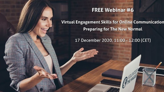"""""""Virtual Engagement Skills for Online Communication"""" with digital skills consultant Luba Fateeva of The Hague Business Agency"""