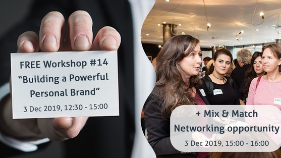 """""""Building a Powerful Personal Brand"""" with Michiel Maandag, international brand advisor, author, and coach"""