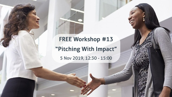 """""""Pitching With Impact!"""" with Frank Smallegange, pitch coach for (technical) start-ups"""