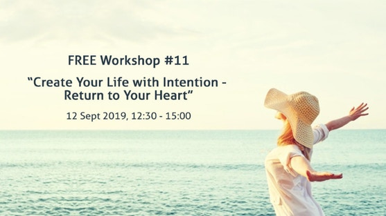"""""""Create Your Life with Intention - Return to Your Heart"""" with  Visionary Collective Leader Manuela Damant at Azkua"""