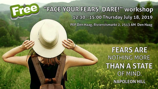 """Face Your Fears. Dare!"" with Vassia Sarantopoulou, counselor-psychologist and founder of AntiLoneliness"