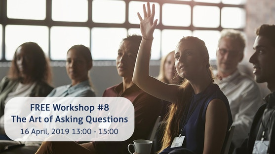 """""""The Art of Asking Questions"""" with Hugo Skoppek, facilitator, coach, and consultant"""