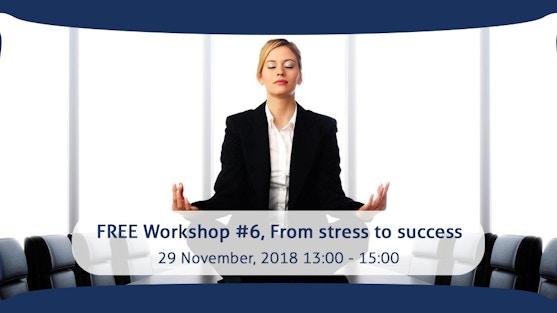 """4 Steps from Stress to Success"" with Stephanie Osunwokeh, founder of KIES Company"