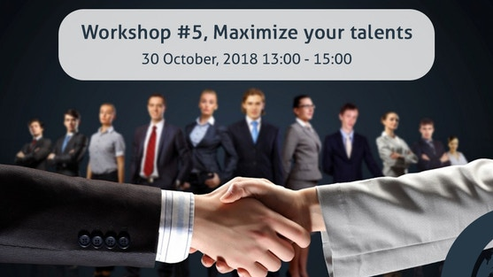 """""""Maximize Your Talents"""" with Astrid Spanjaardt, usiness coach/trainer and company advisor of Astrid Spanjaardt Coaching"""