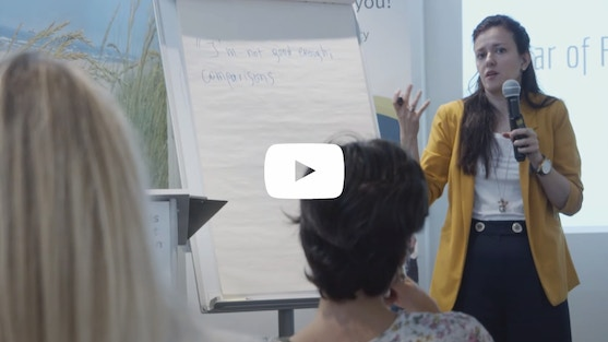 "Hey, everyone! Check out this video recap of our July event, ""Face Your Fears - Dare!"" - an informative and throught-provoking workshop presented by the fabulous Vassia Sarantopoulou from AntiLoneliness. Our enthusiastic attendees learned a lot about overcoming the fears that can hold all of us back, and we in turn learned a lot from them. We thank them for making this event a great success!"