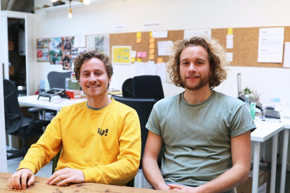Julius Weise van Welcome  App over sociale innovatie en  de inclusie van nieuwkomers